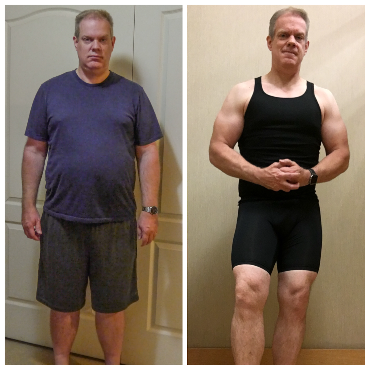 52yo Guy Loses 70 Pounds (Never Too Late!)