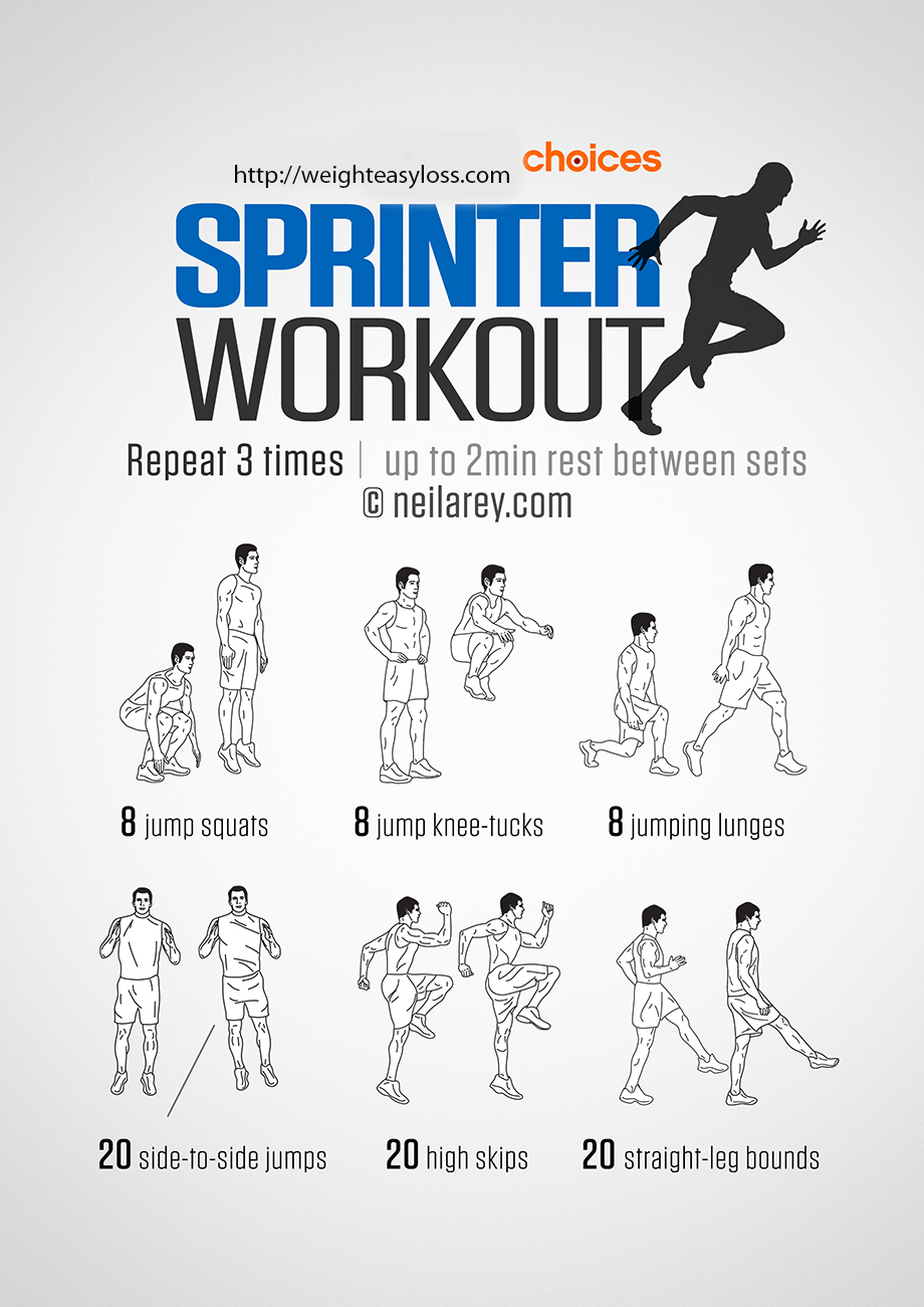 Sprinter Workout