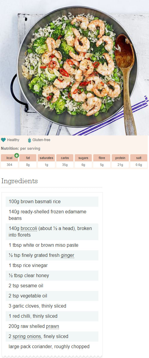 Miso brown rice