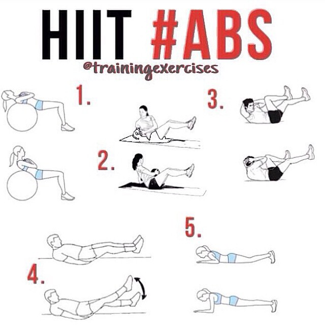 HIT exercise ABS