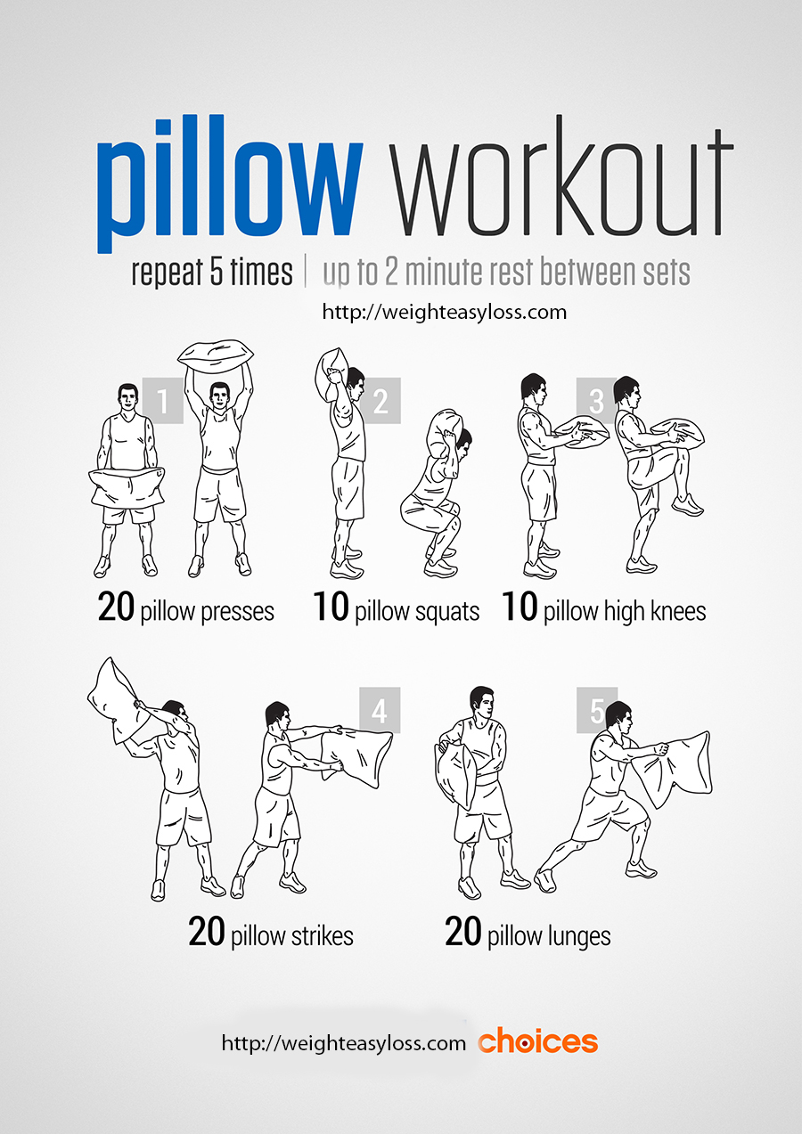 Pillow workout
