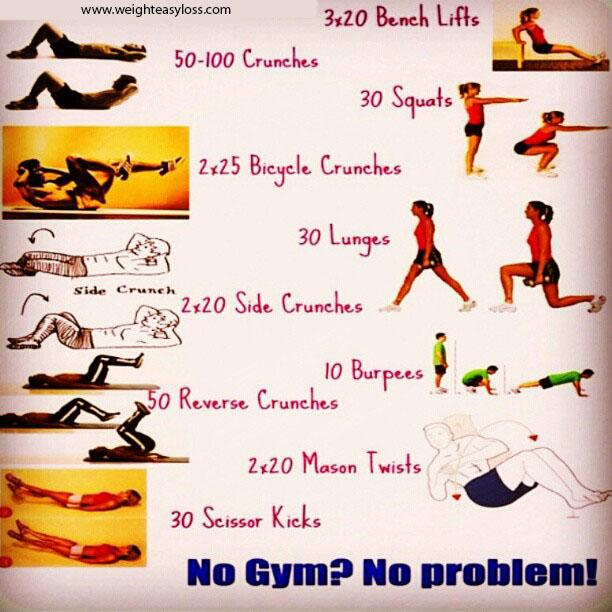 Strengthening exercises for home