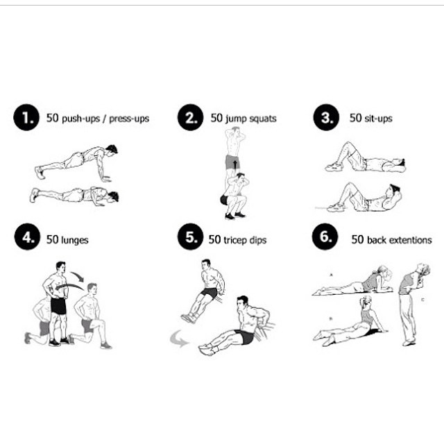 Restorative workout