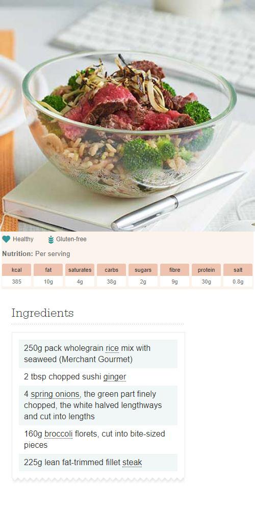 Steak & broccoli protein pots