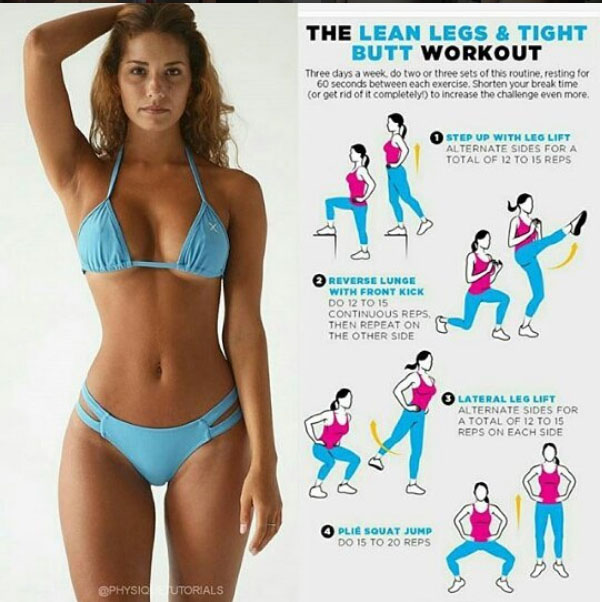 Legs , tight butt workout!