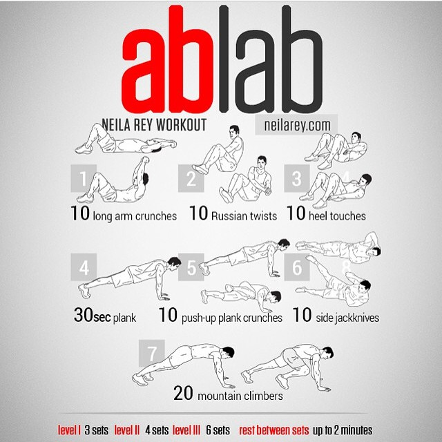 ab Lab workout