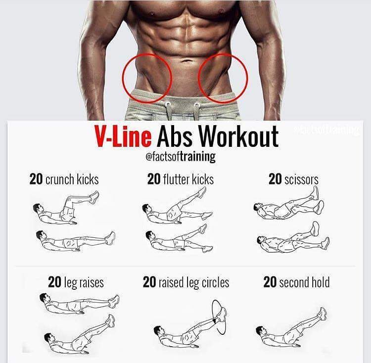 V-Line ABS Workout