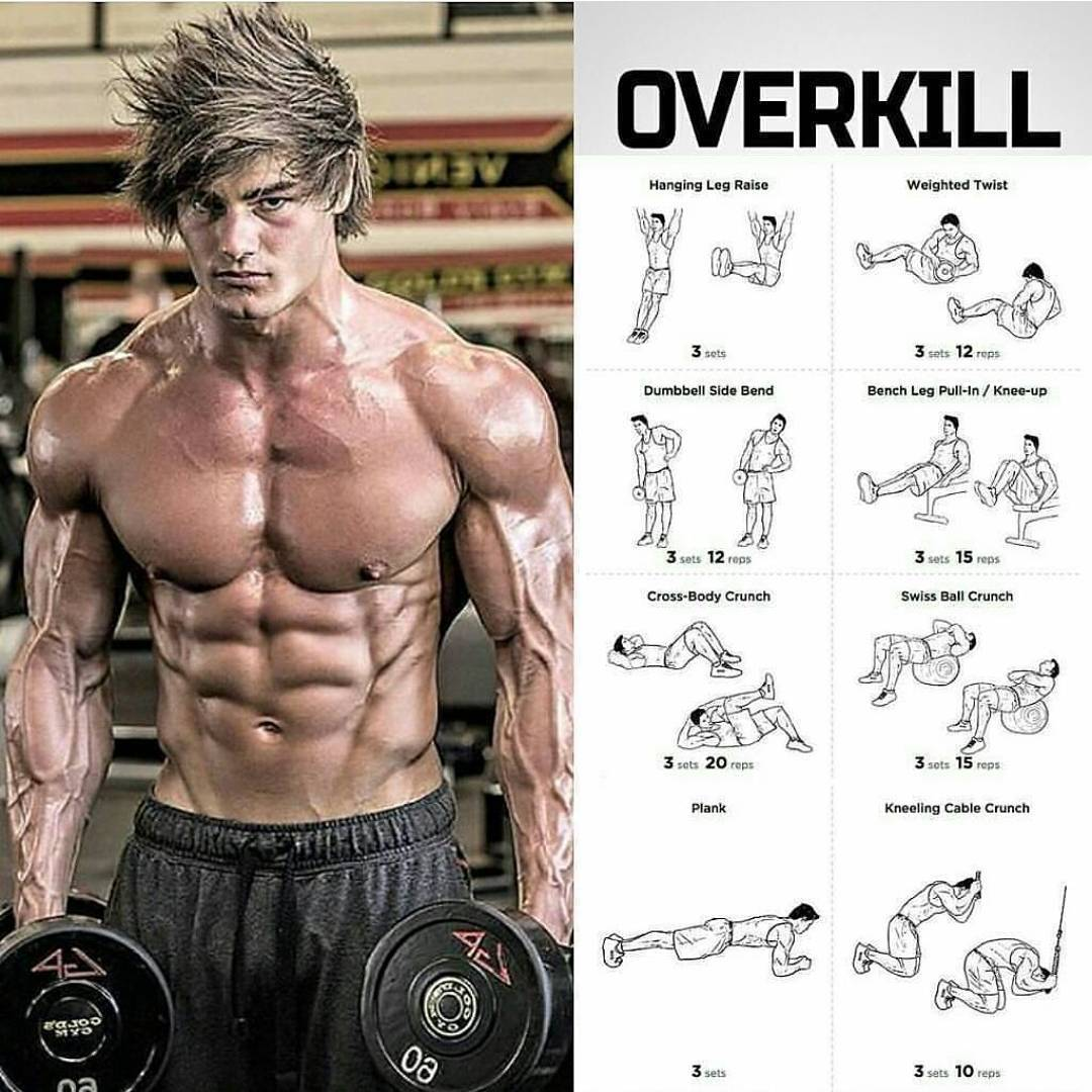Overkill ABS workout
