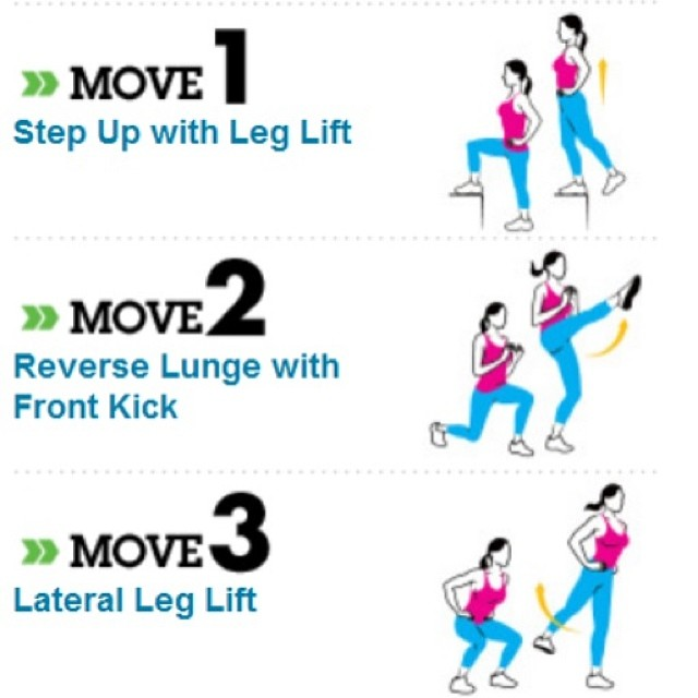 Exercise to move