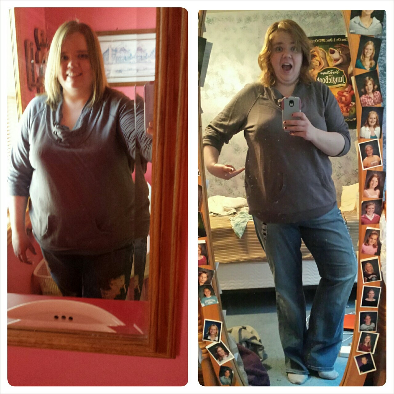 The first pic after weight loss