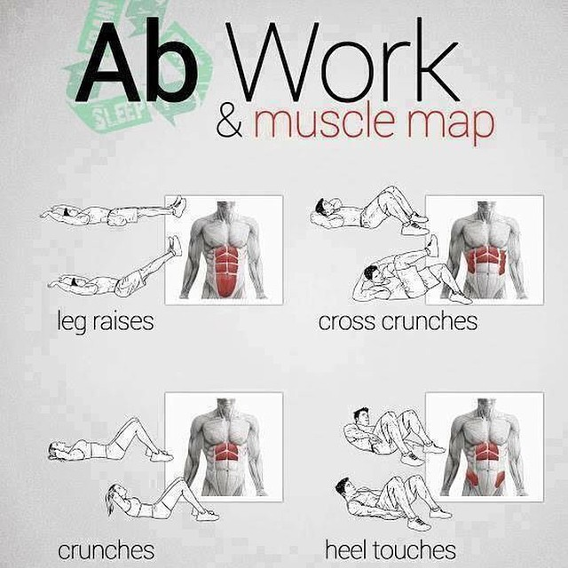 AB WORK & MUSCLE MAP