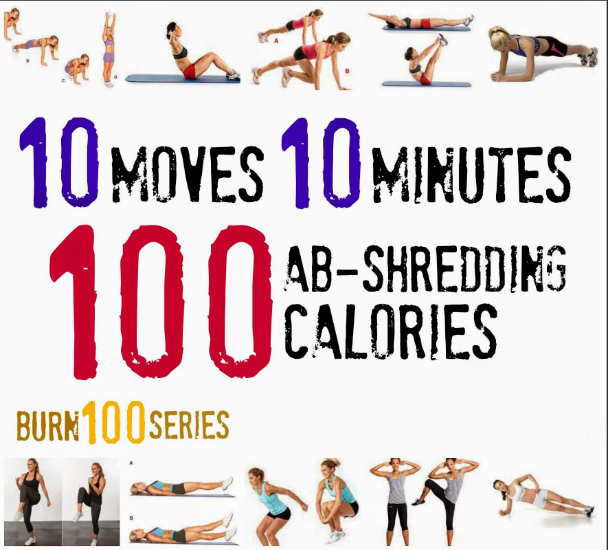 10 move, 10 minutes burn ABS