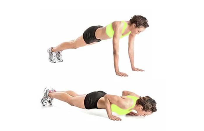 How to Do Narrow push-ups
