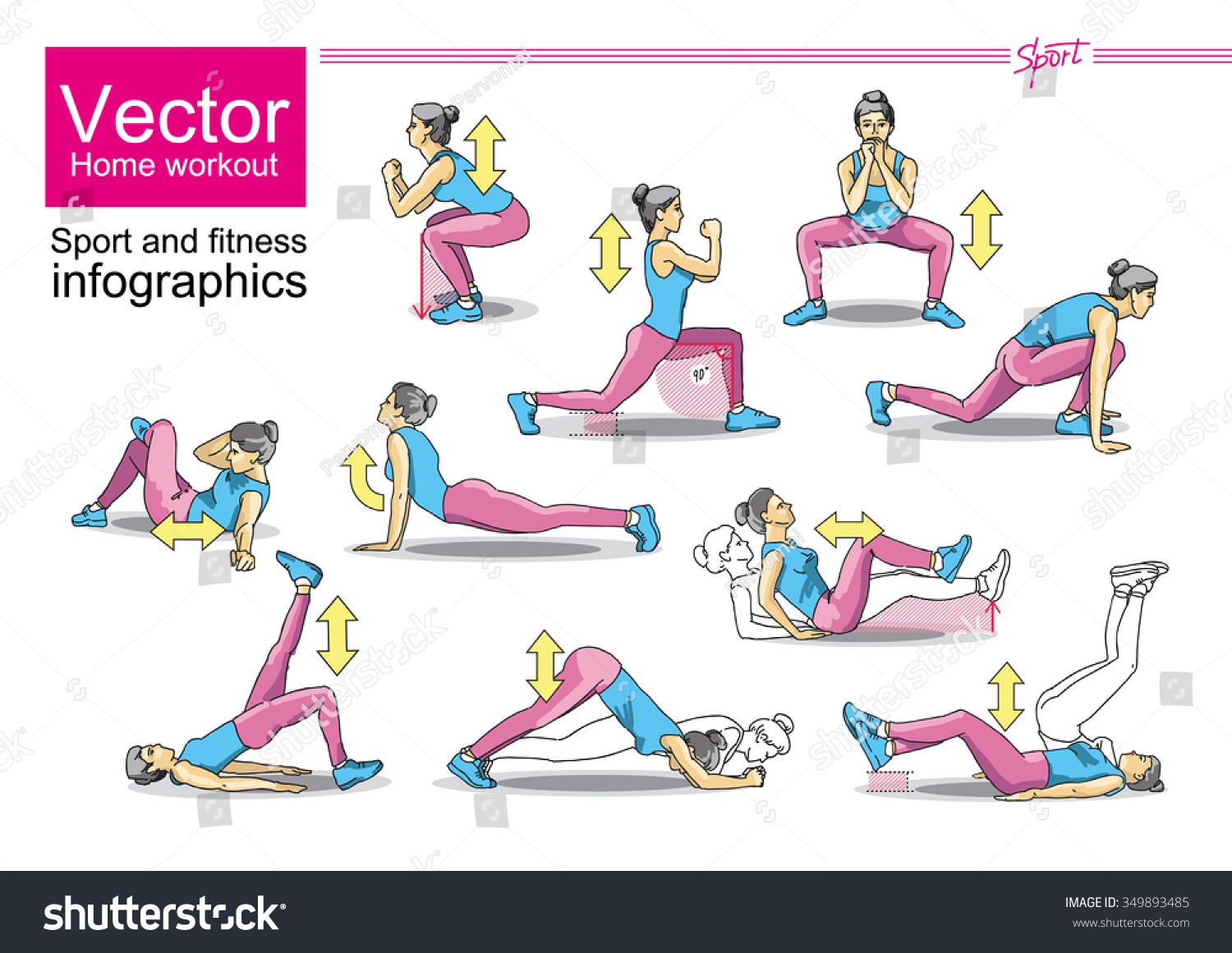 Weight loss exercises for home