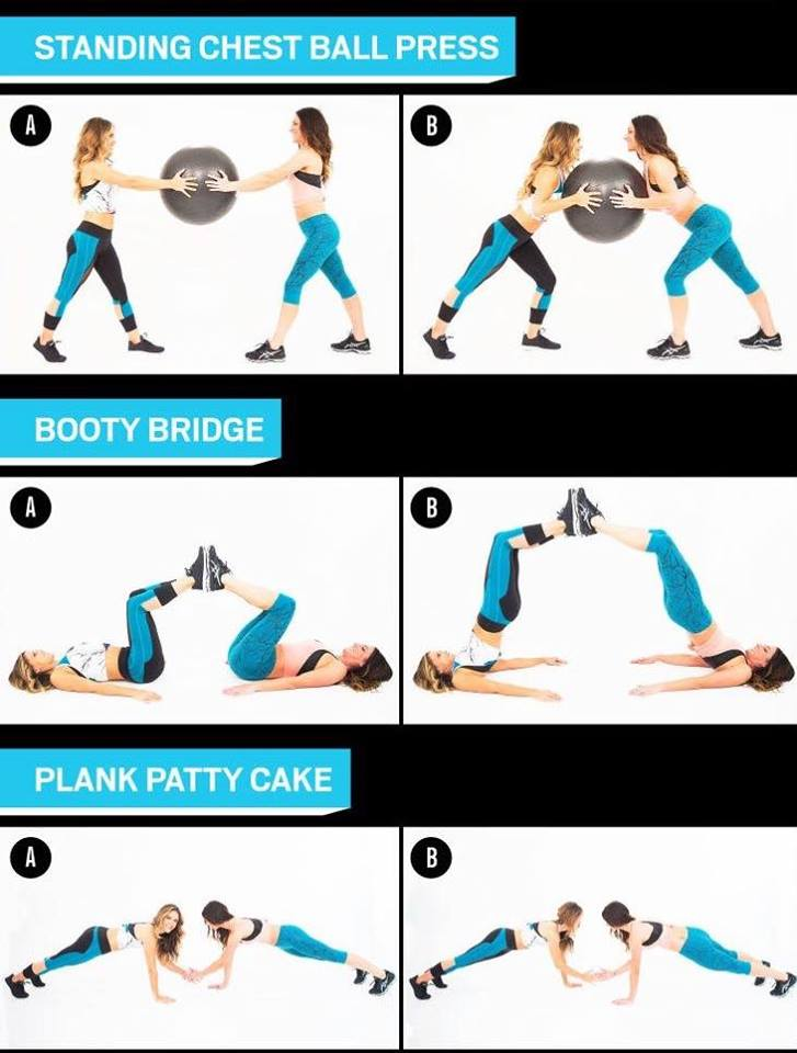 Paired workouts