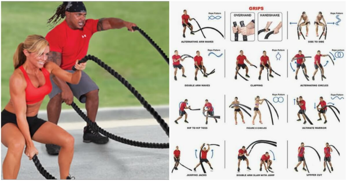 The Ultimate 20 Minute Battle Ropes Workout