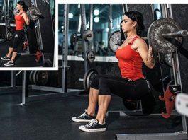 Sit Ups Barbell Gym Smith MachineSit Ups Barbell Gym Smith Machine