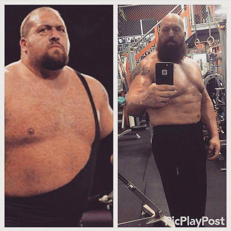 this man threw off a lot of weight