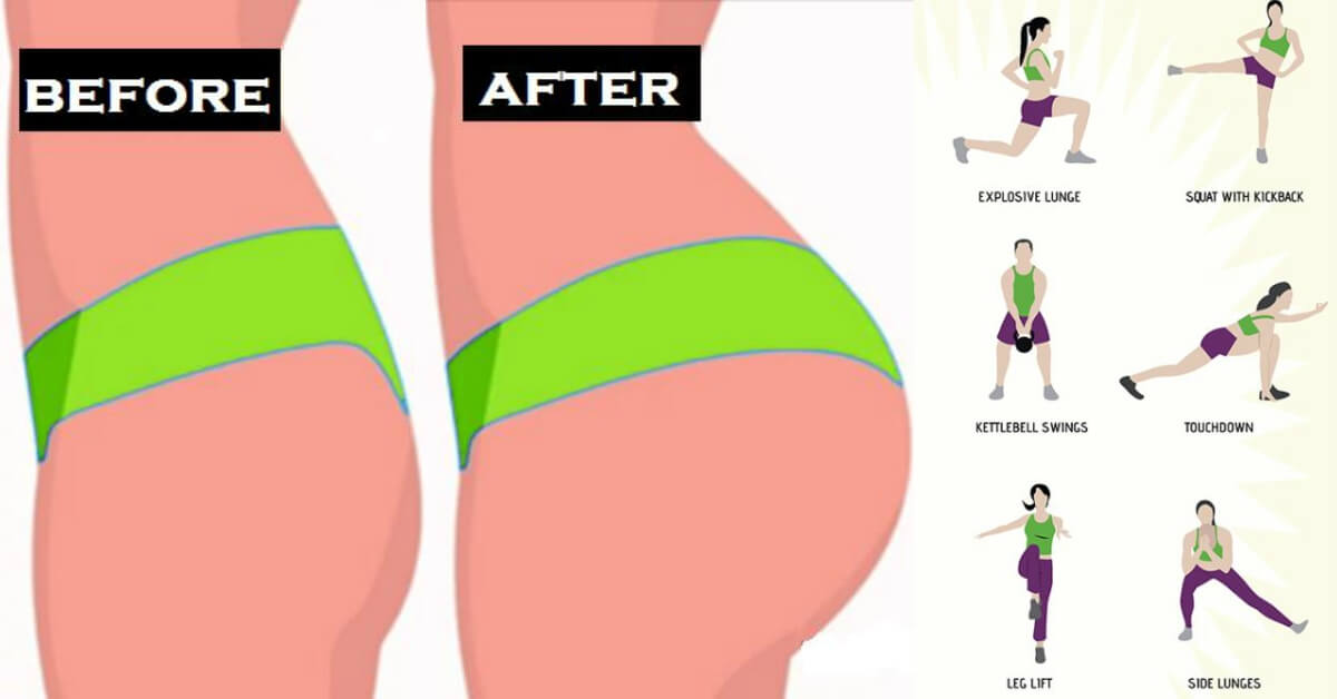 Brazilian Butt Workout Complete Exercises