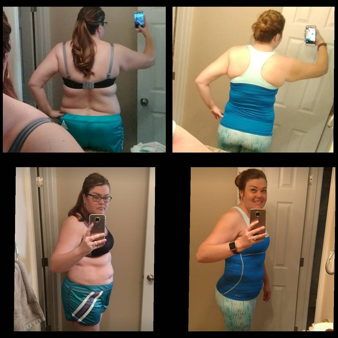 6 month progress women