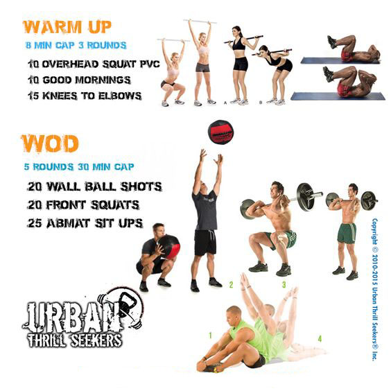 Overhead Squat & Warm UP