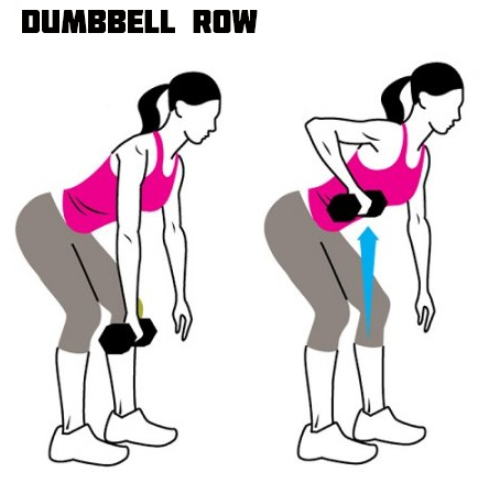 How to Do Dumbbell Row