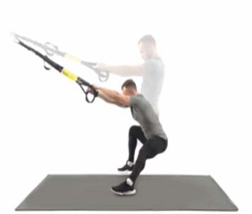 How to Do Lunges side trx