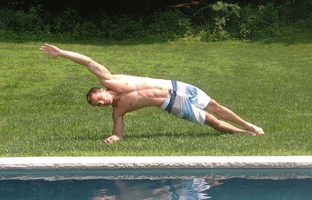 Side-Plank-Swipers