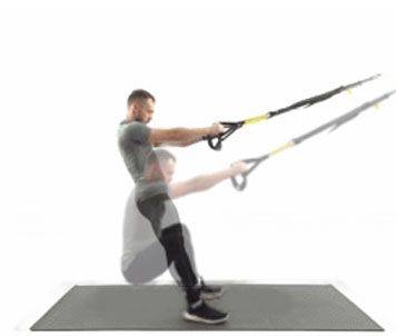 How to Do Trx Legs Squat