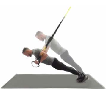 How to Do trx push-ups