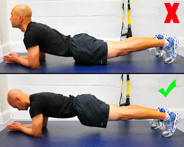 The plank exercises