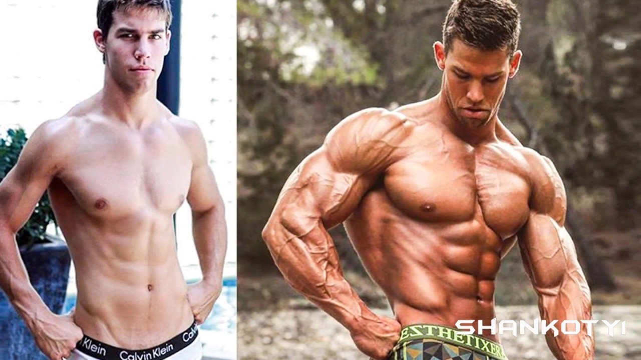 Skinny Transformations People Gain Muscles Before & After Photos