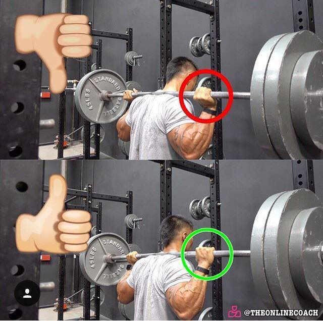correct grip barbell