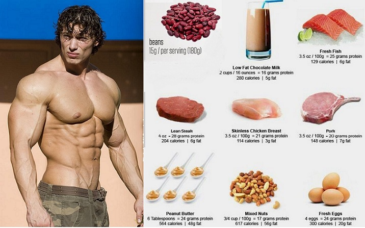Foods and Benefits Muscle Building