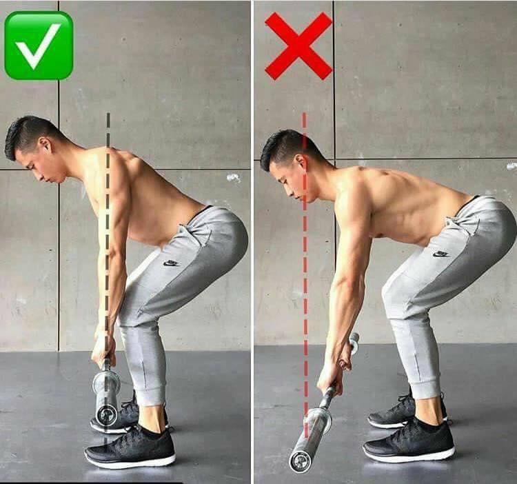 tilt position during exercise