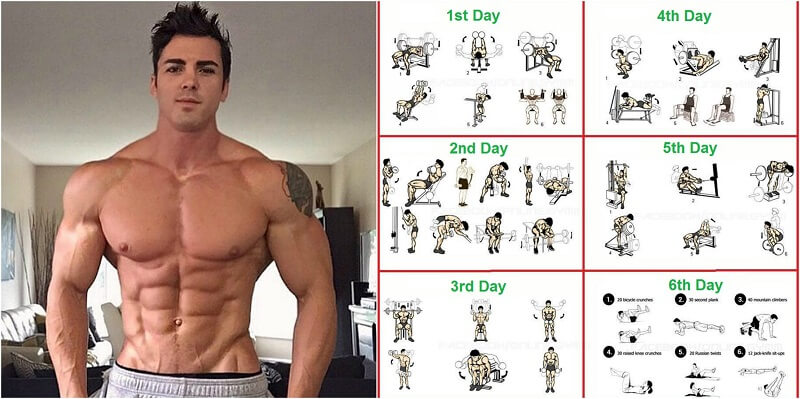 FITNESS Total Body Workout Routine And How To Set Up Workouts