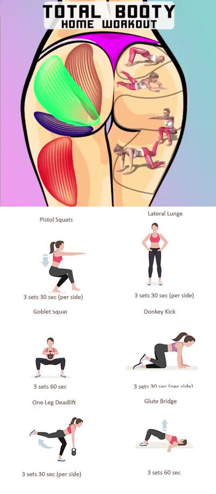 Total Booty Home Workout