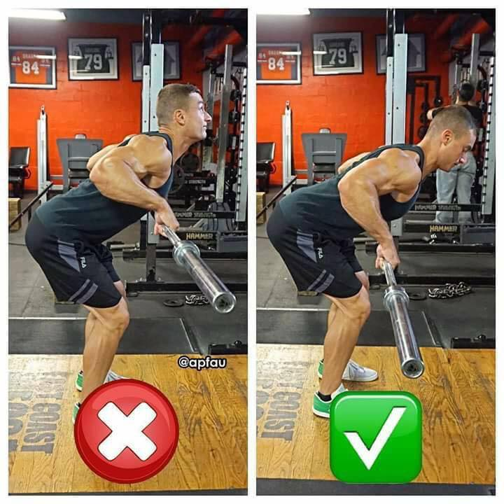 the correctness of the rod pulling to the waist