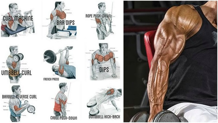 Exercises in 2 Supersets For Bigger and Stronger Triceps And Biceps