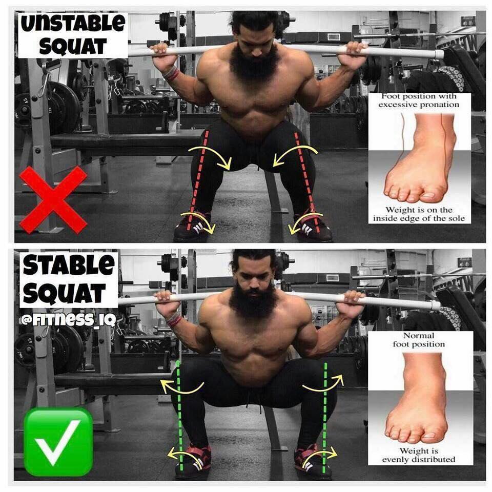 stable squat