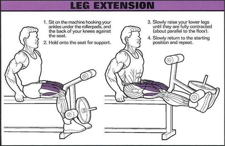 correctness of leg extension