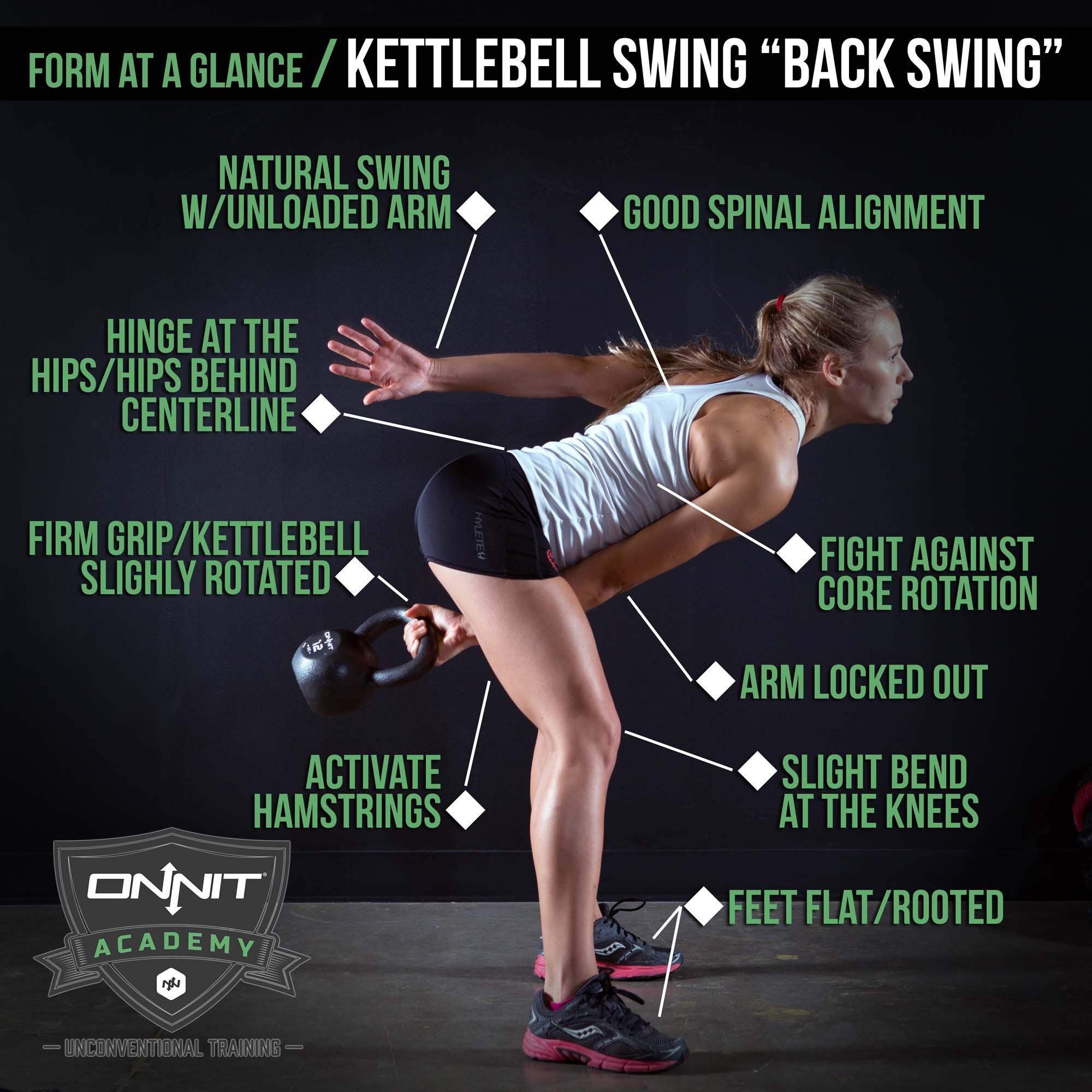 """Kettlebell swing """"Back Swing"""""""