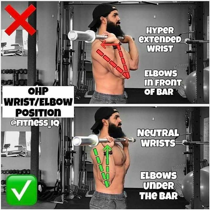 correctness of the barbell push