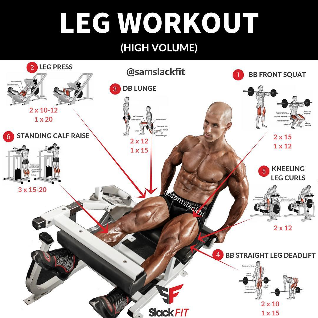 HIGH VOLUME LEG WORKOUT