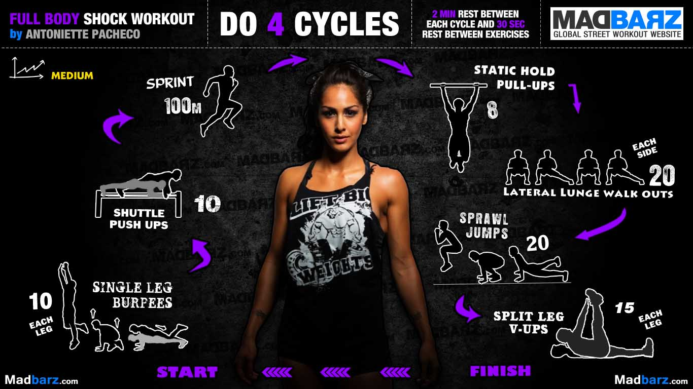 workout for girl