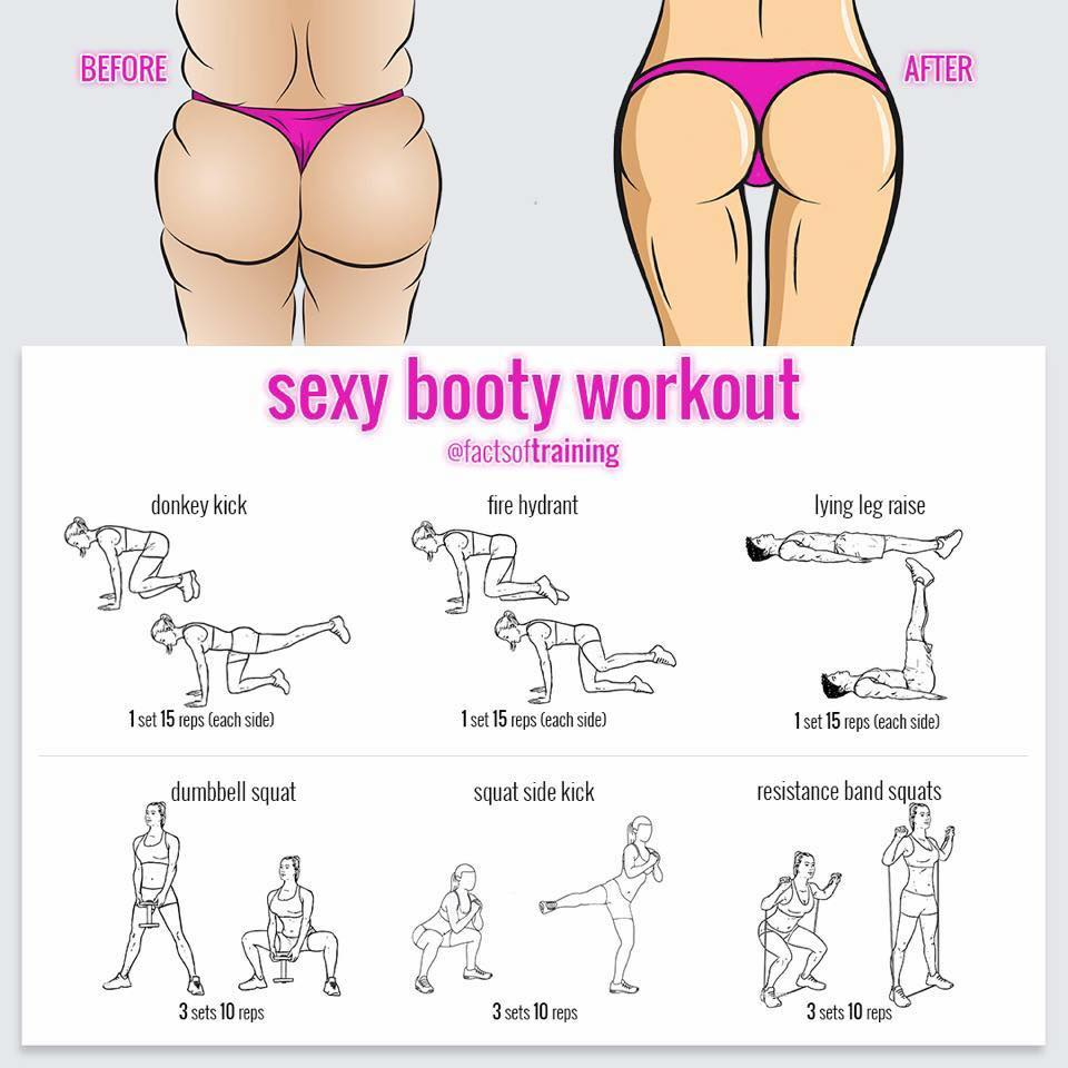 sexy booty workout