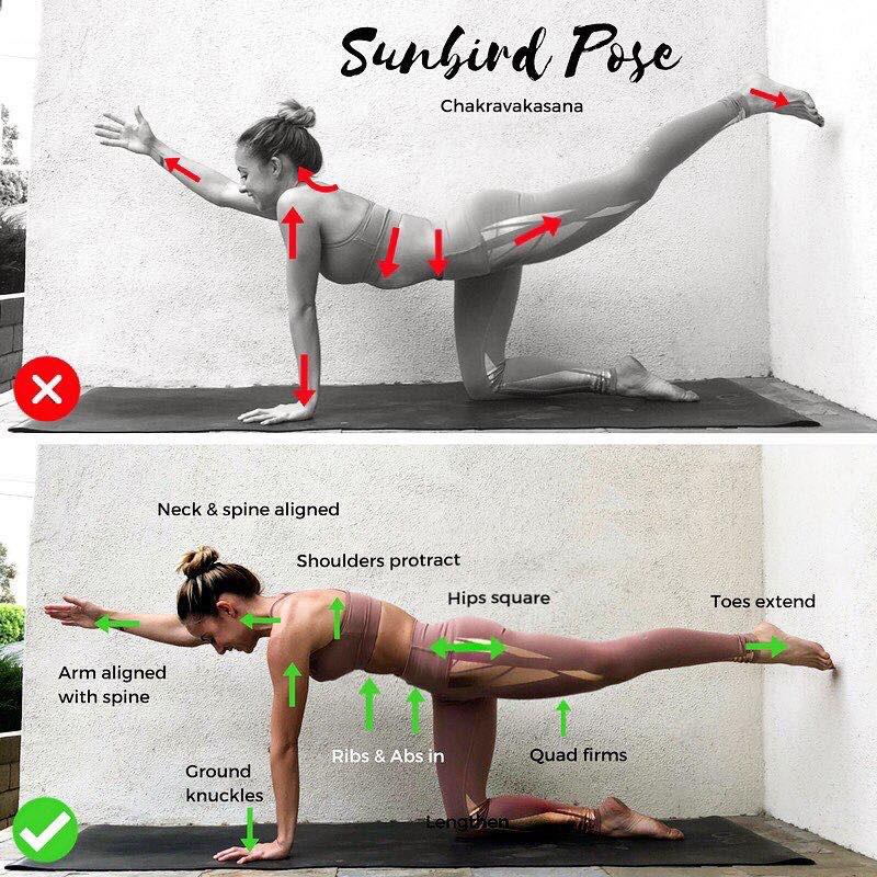 Сorrect exercises: Yoga