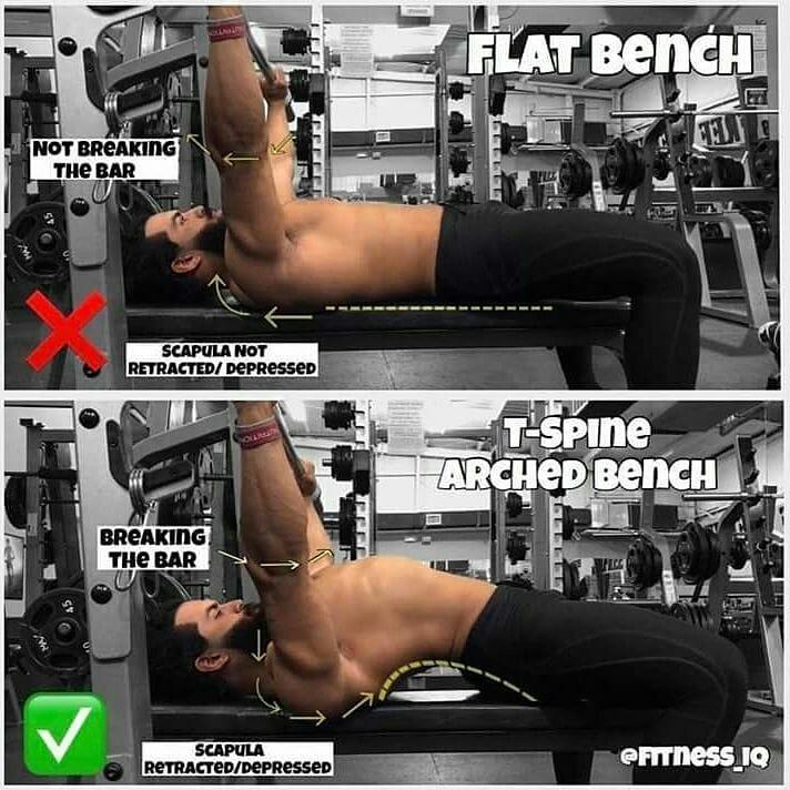 Bench exercises