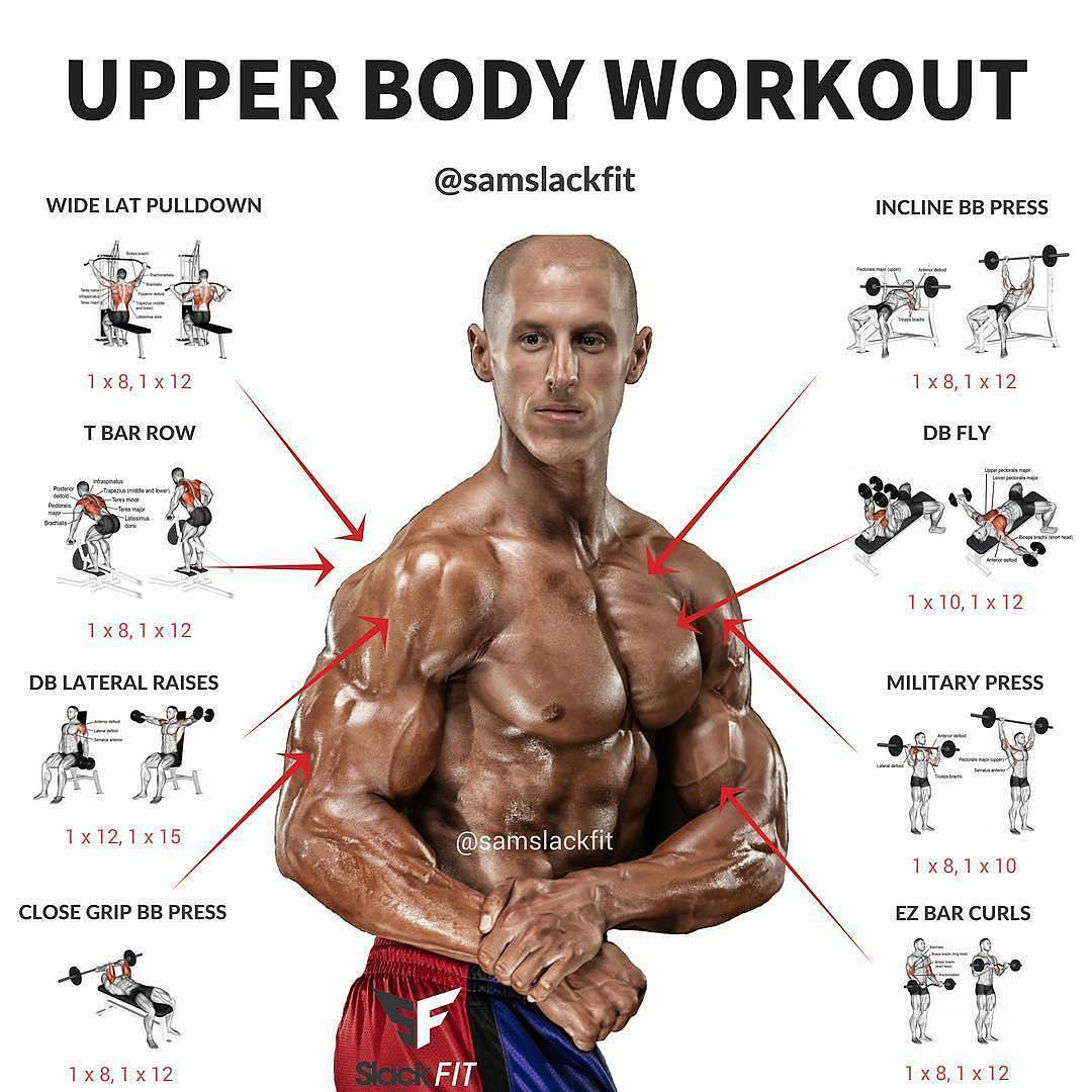 UPPER BODY WORKOUT - Weight easy loss - Fitness Lifestyle