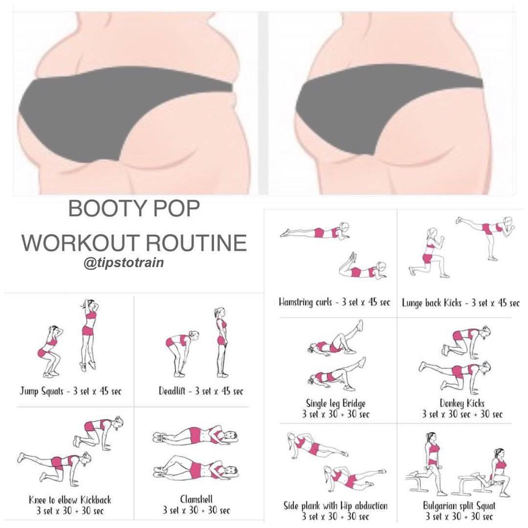 Booty Pop Workout Routine